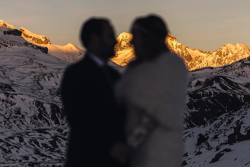 Postboda original en el Pirineo