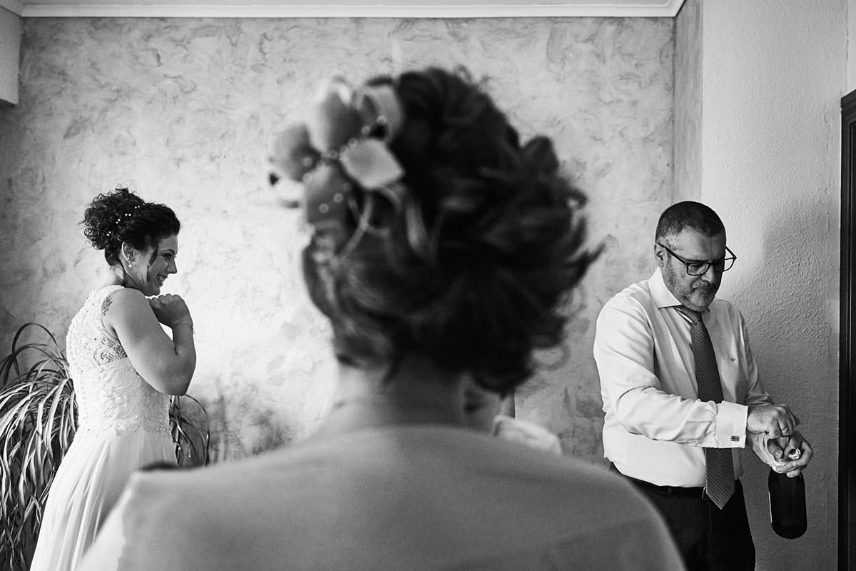 fotografia divertida de boda en Zaragoza