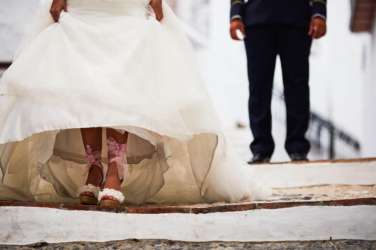 alpargatas lisa boda