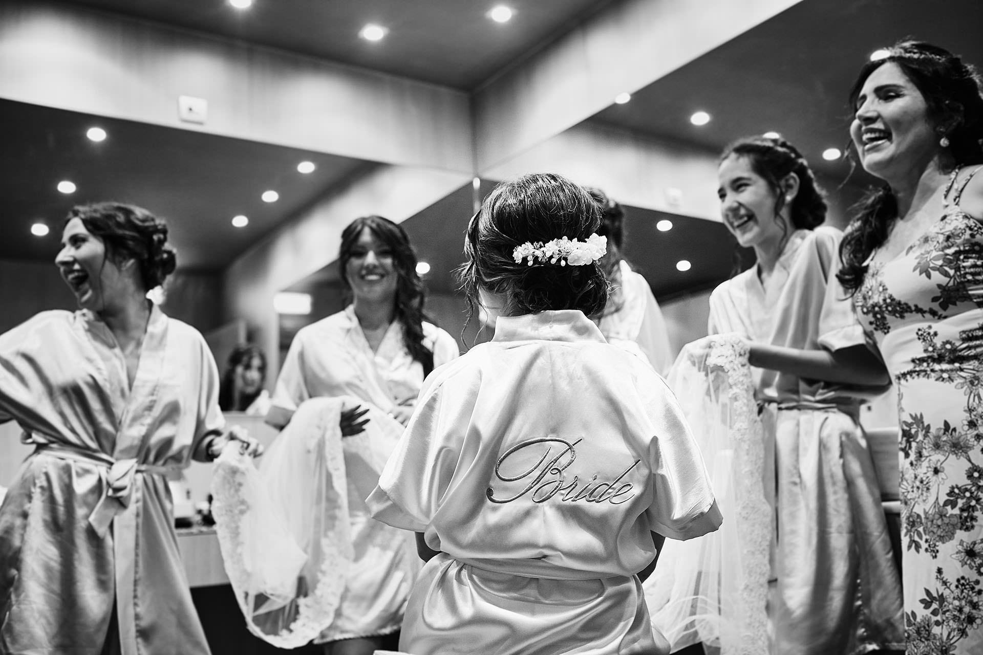 damas novia boda