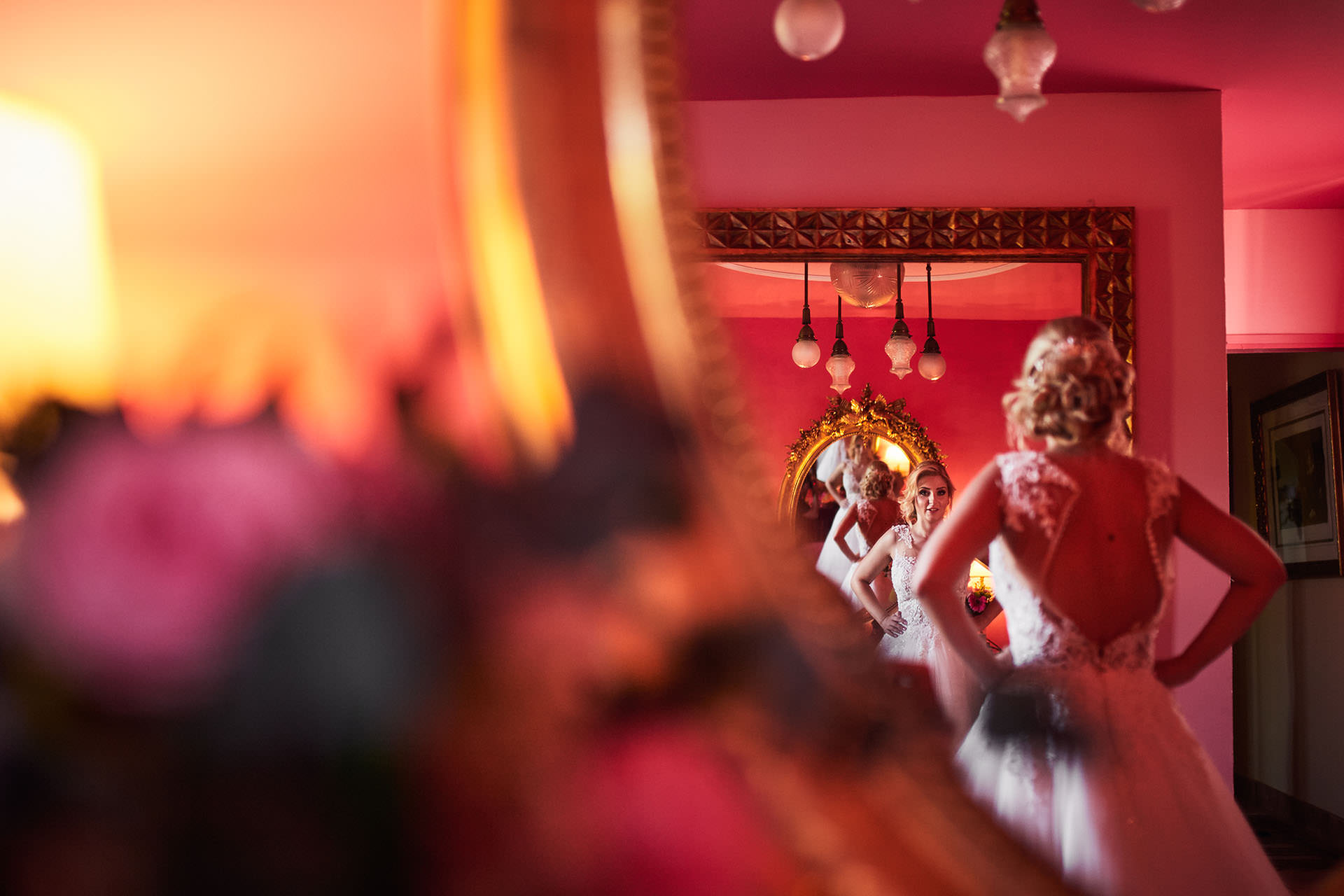 espejos novia Zaragoza boda