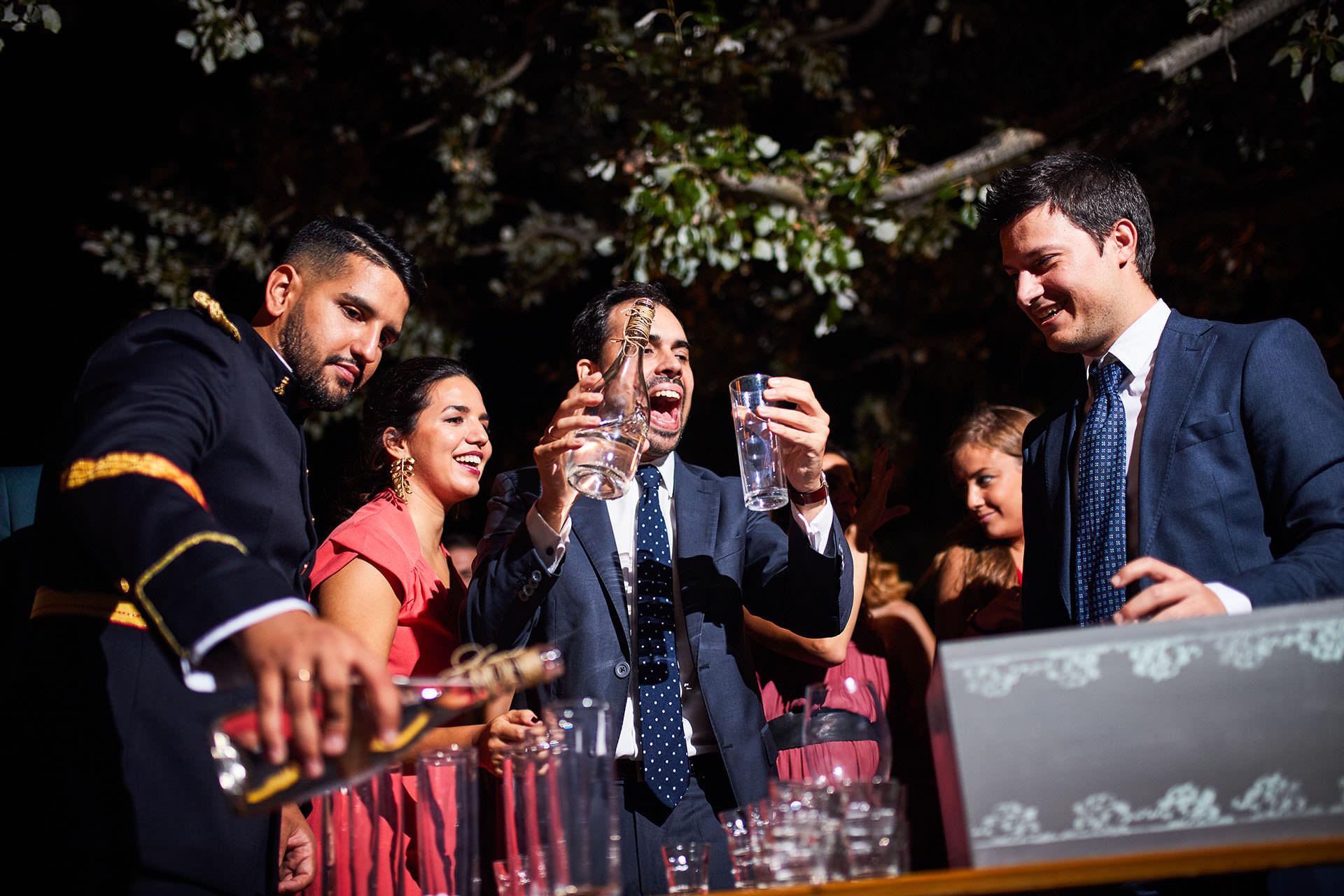 fiesta boda torre del pino Zaragoza