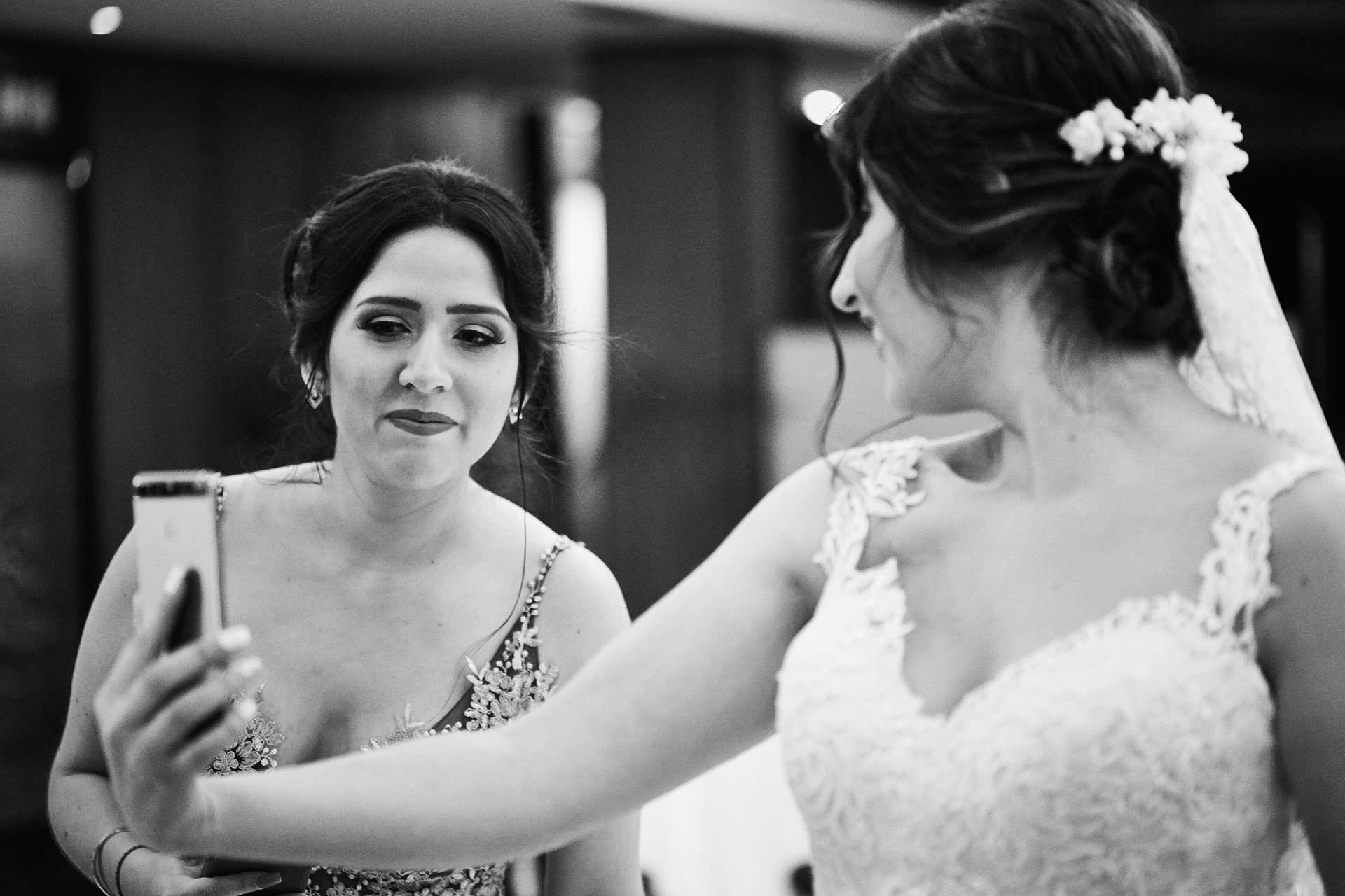 hermanas boda