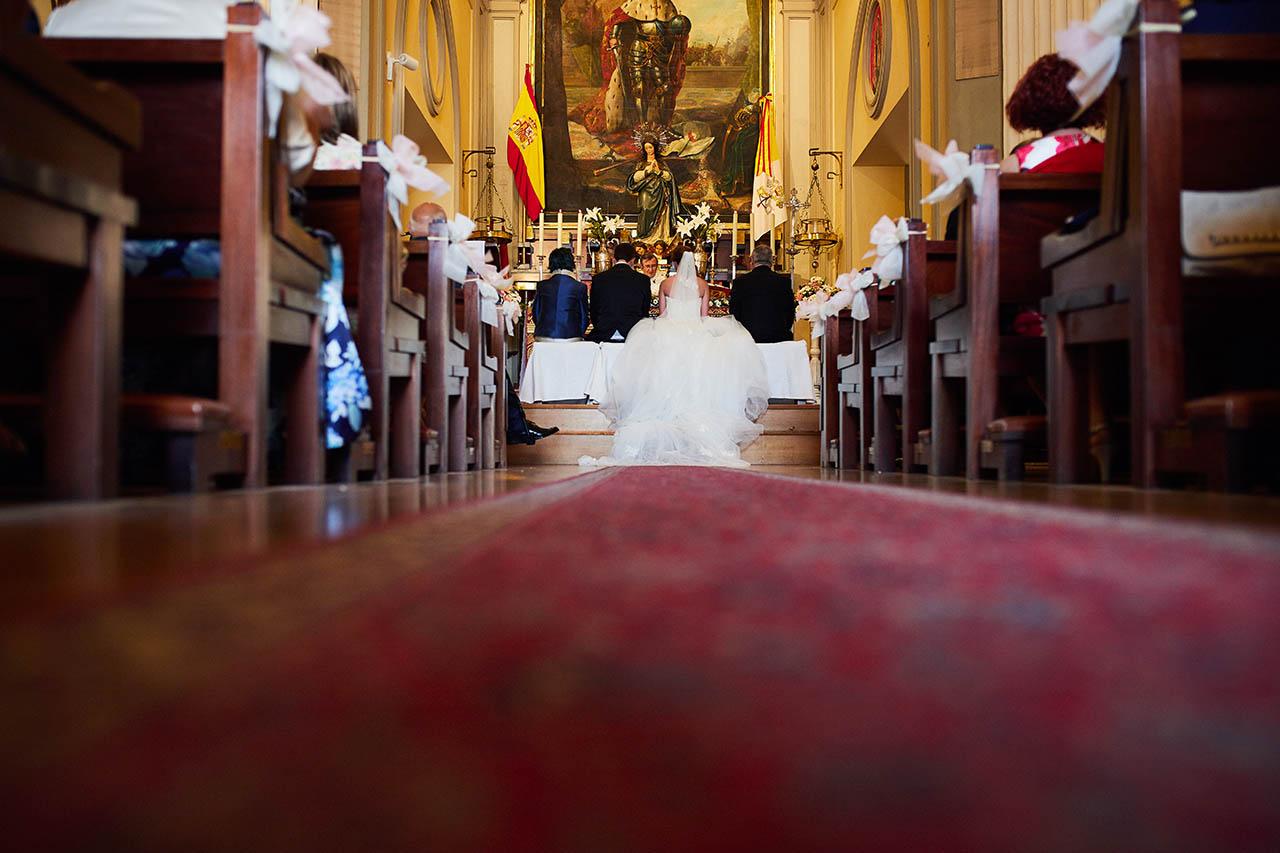 iglesia san fernando Zaragoza boda