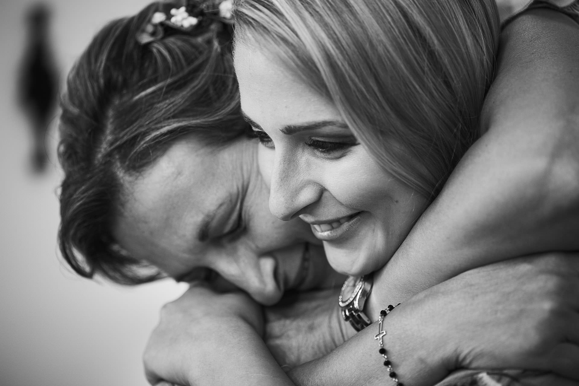 madre e hija boda