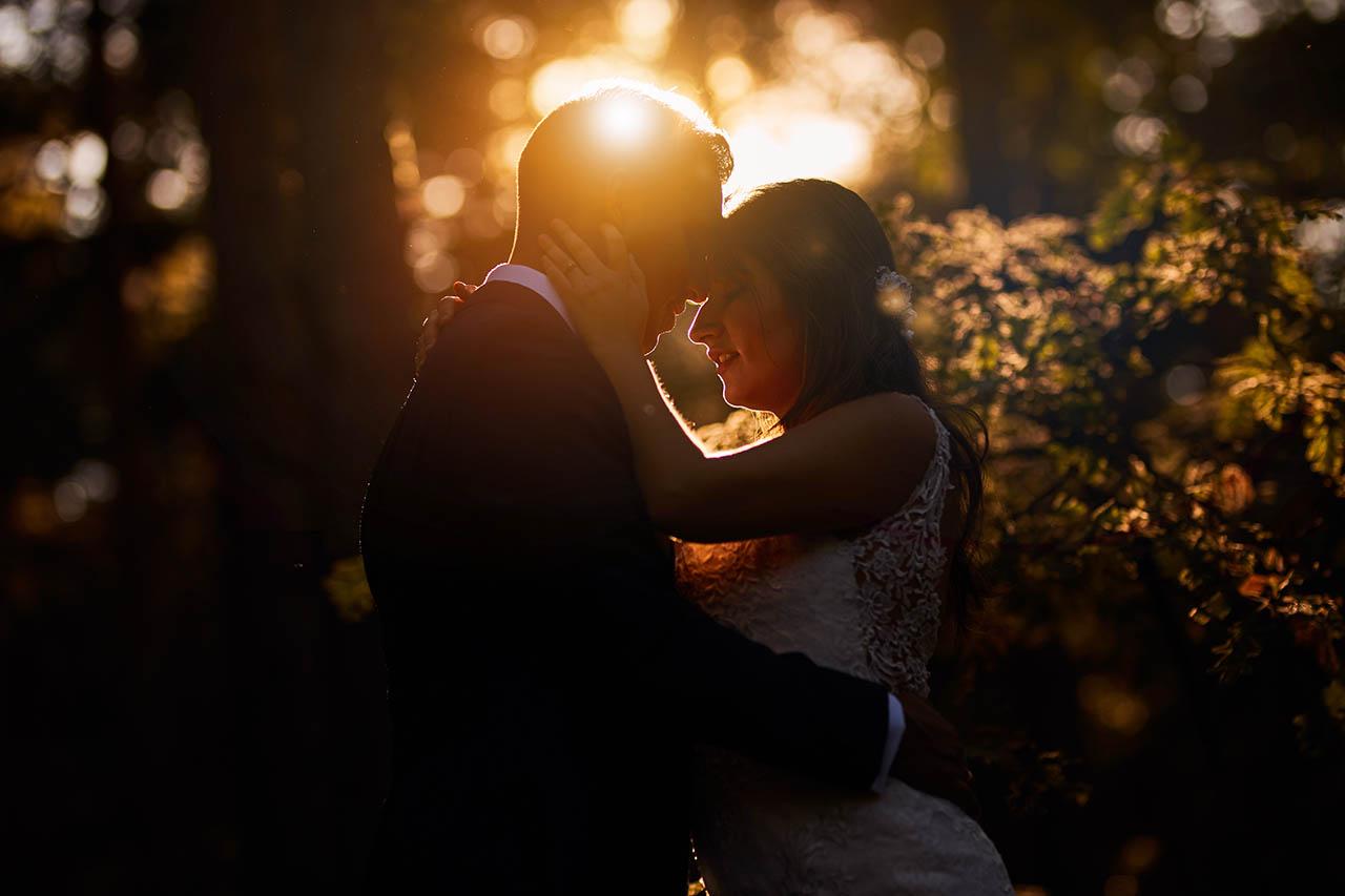 postboda luz romantica