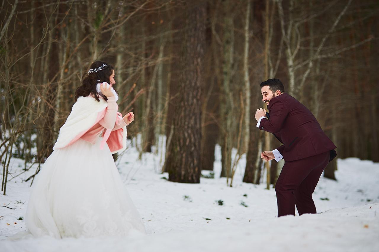 boda nieve Zaragoza