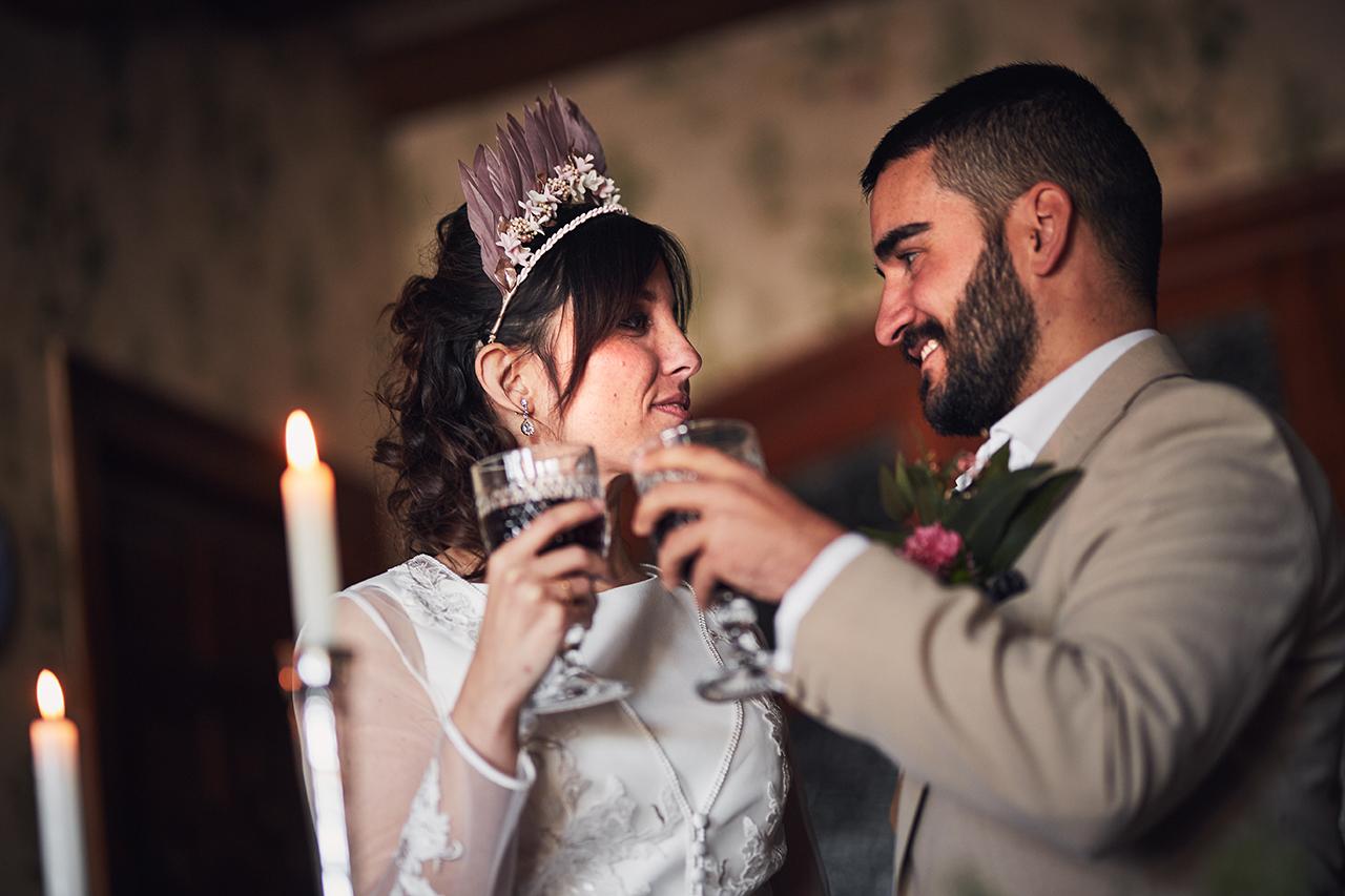 brindis novios boda Zaragoza
