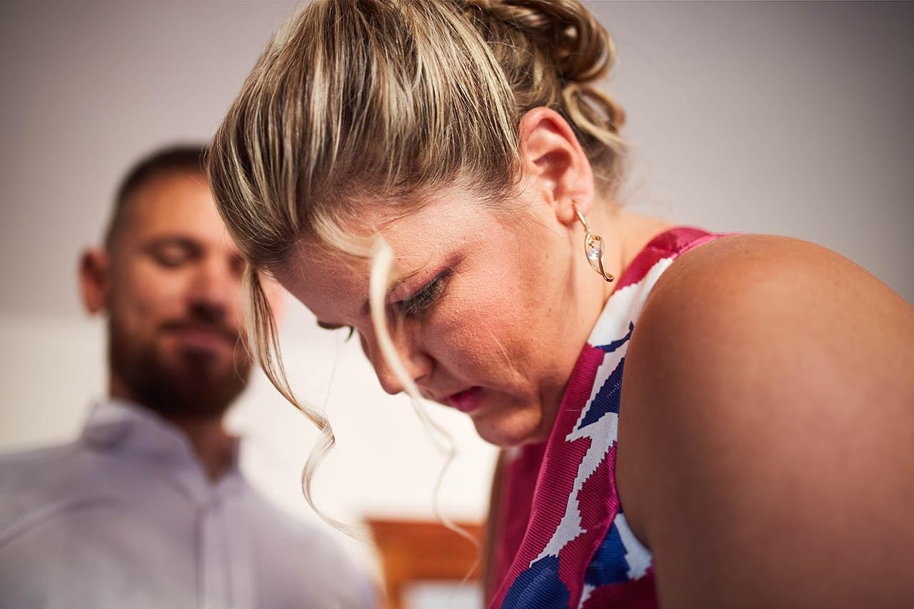 hermana del novio boda