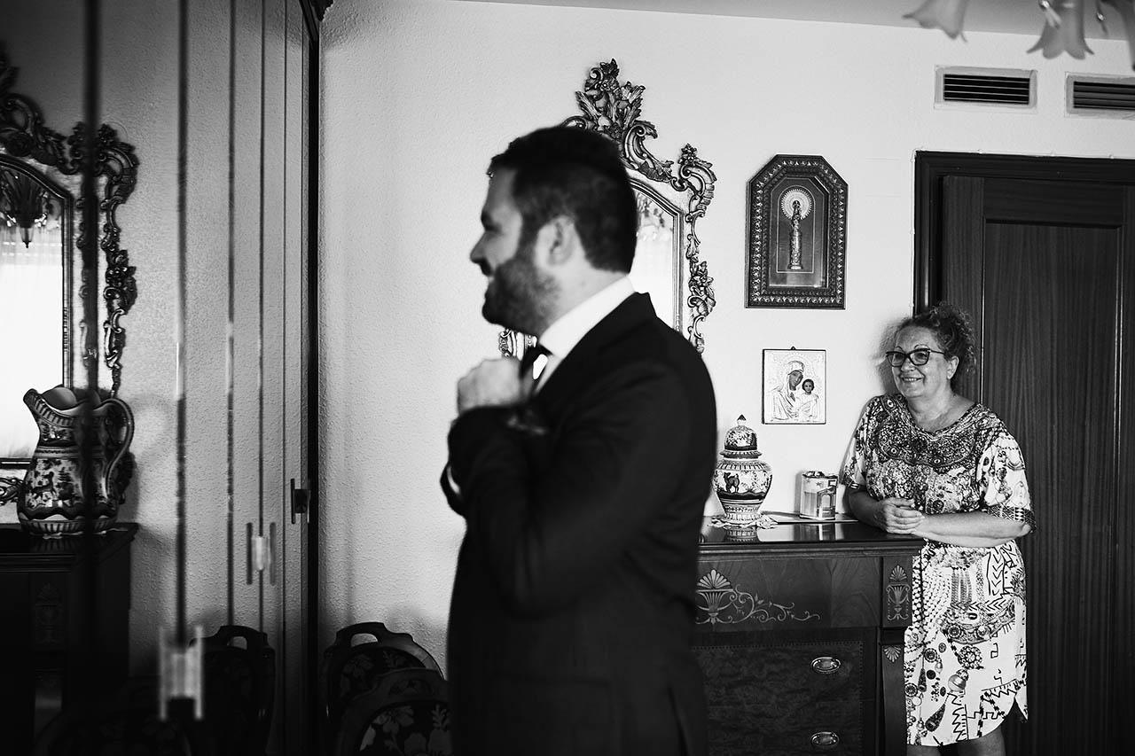 madre hijo boda Zaragoza