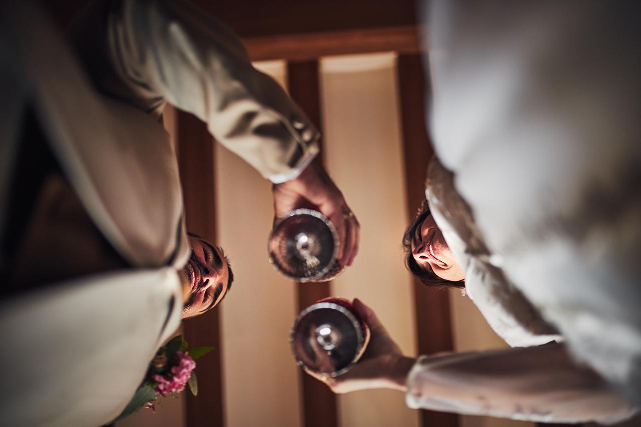 novios boda banquete Zaragoza