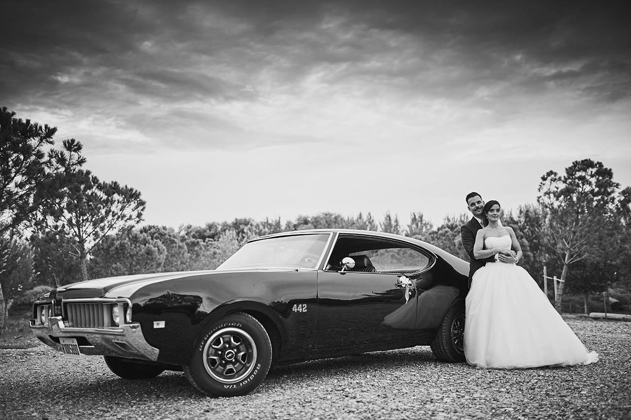 pareja de novios boda