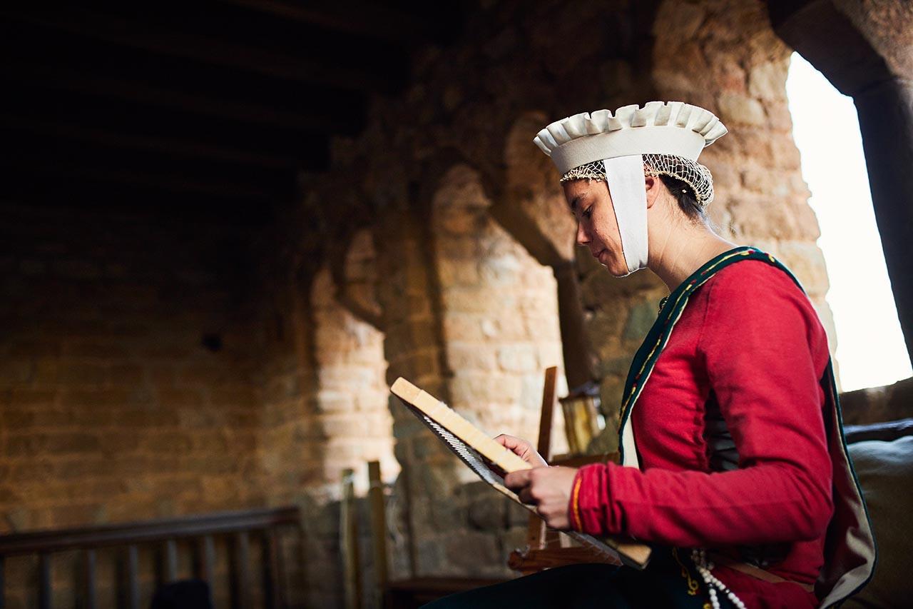 preboda vestido medieval