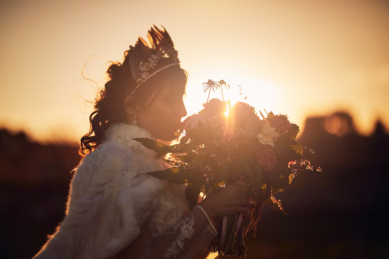 ramo de flores novia zaragoza