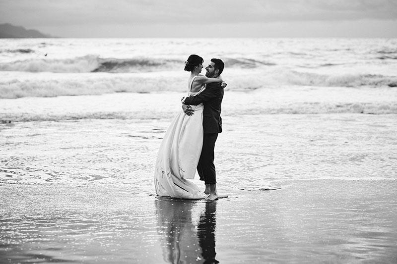 amor playa postboda