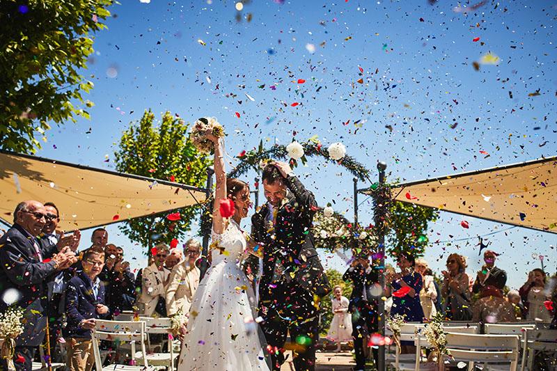 confeti boda zaragoza