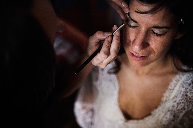 preparativos de novia boda