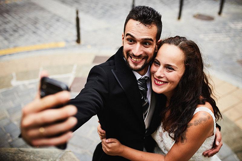 selfie postboda