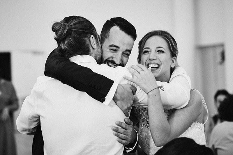 amigos boda Zaragoza