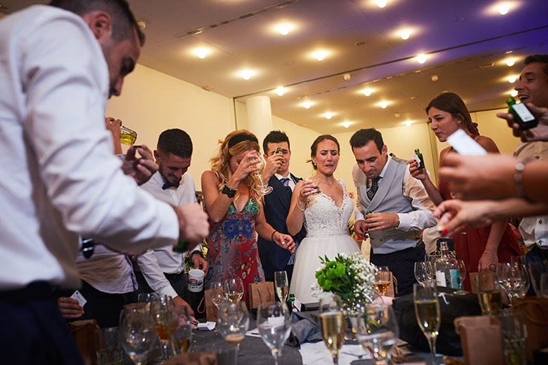 boda en el hotel hiberus de Zaragoza