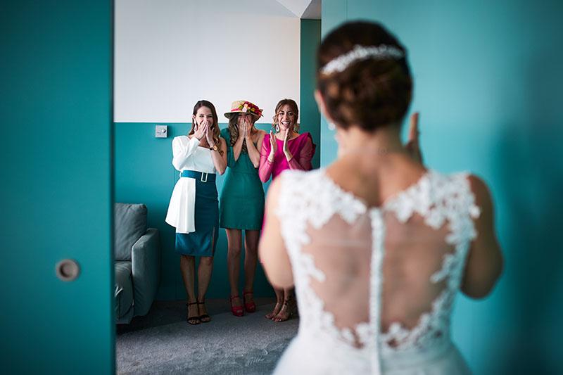novia amigas boda