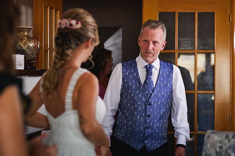 padre hija boda